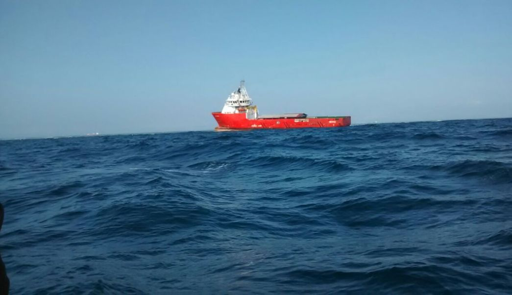 la empresa dueña del buque antares debe poner fianza