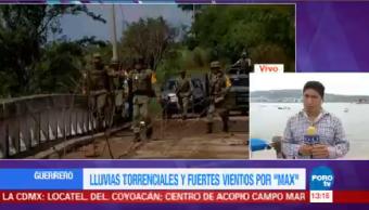 Protección Civil Guerrero Confirma Muerto Paso Max Huracán