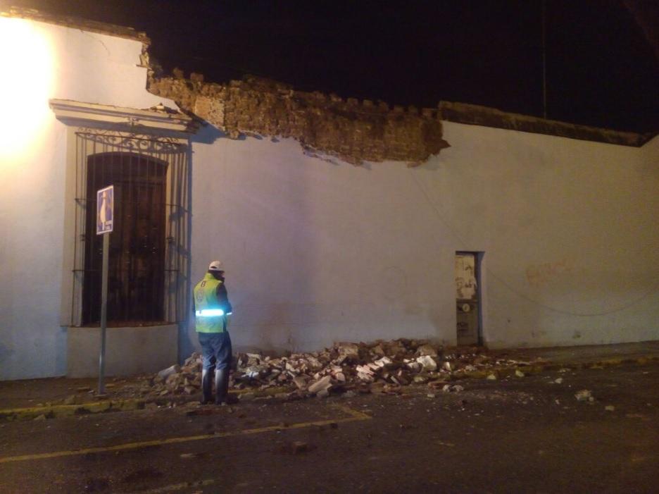 sismo provoca daños en oaxaca y chiapas