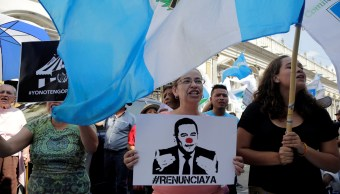 Congreso Guatemala mantiene inmunidad presidente Jimmy Morales