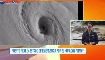 Puerto Rico Estado Emergencia Huracán 'Irma'