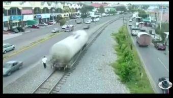 tolva desprende tren causa panico sanjuandelrio