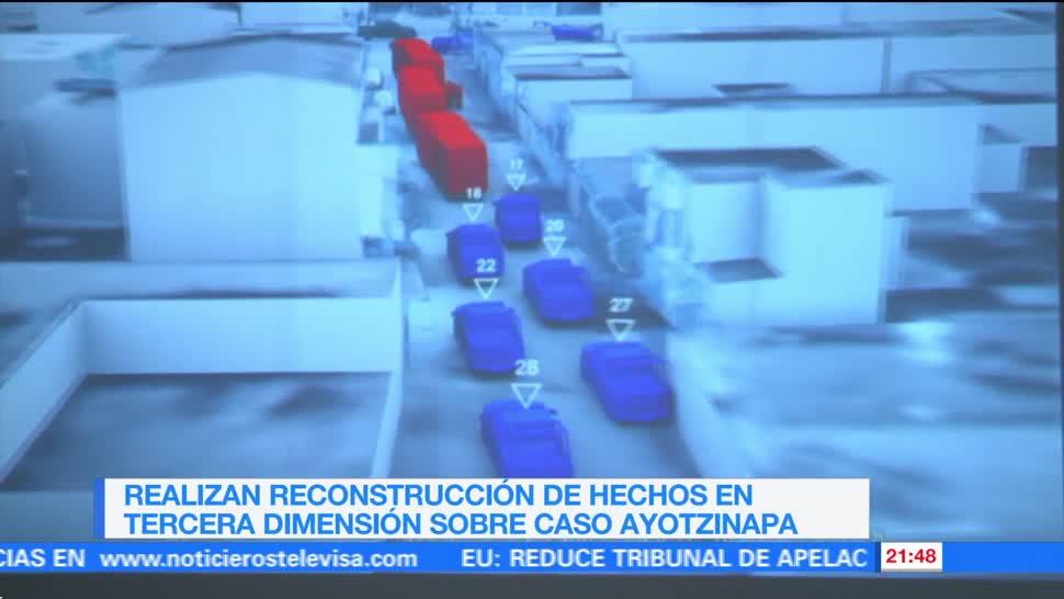 Reconstruyen en tercera dimensión caso el Ayotzinapa