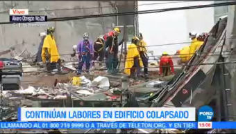 Recuperan 3 Cuerpos Entre Escombros Álvaro Obregón 286