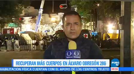 Recuperan Cuerpo Álvaro Obregón 286 Madrugada