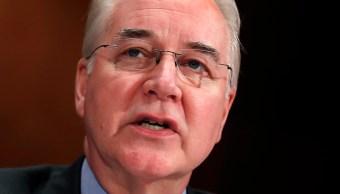 Secretario Salud Estados Unidos renuncia escándalo aviones privados