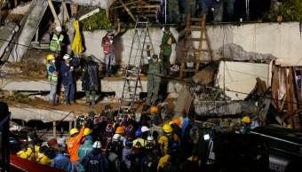 segundo dia rescate sismo 19 septiembre