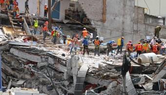 Continúan los trabajos de rescate en Álvaro Obregón 286