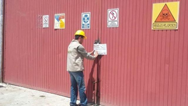 Detecta Profepa manejo irregular de 40 toneladas de residuos peligrosos