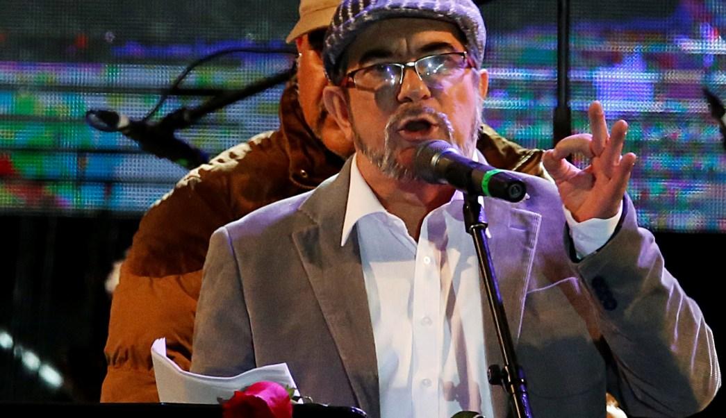 Timochenko es elegido presidente partido politico FARC