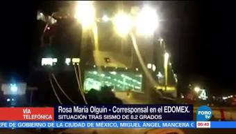 Saldo blanco en el Estado de México tras sismo