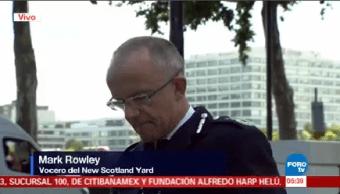 Artefacto Explosivo Improvisado Confirma Policía Londres Mark Rowley Scotland Yard