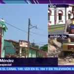 Sedena apoya a damnificados por el sismo en Oaxaca