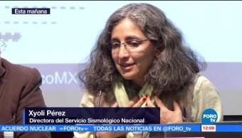 Servicio Sismológico de México informa sobre réplicas del sismo