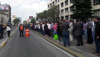 Se realiza simulacro de sismo de 8 grados en la CDMX. (Noticieros Televisa)