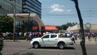 Osorio Chong pide salir de edificios por sismo habra revisiones