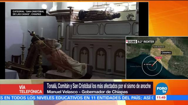 Sismo del 7 de septiembre deja al menos 10 muertos en Chiapas