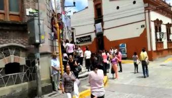 Los habitantes de Veracruz también sintieron el sismo