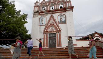 Templo del Señor del Calvario en Chiapa de Corzo