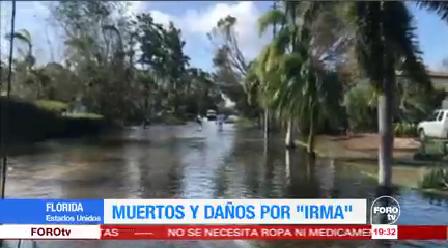 Tormenta Tropical Irma 3 Muertos Georgia Florida Evacuados