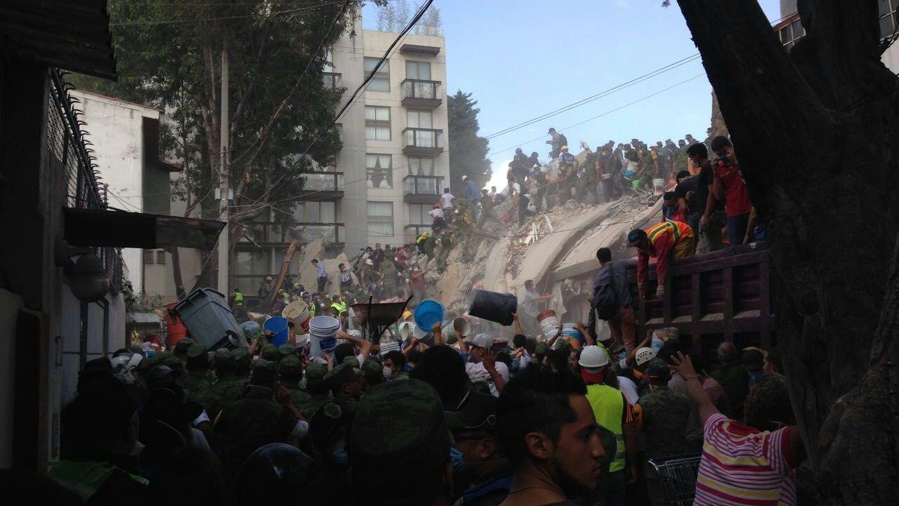 Volvio a temblar en Mexico justo un 19 de septiembre