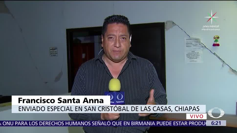 sismo, escuelas, Chiapas, inutilizables