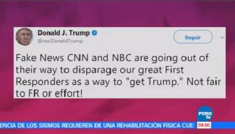 Trump Ataca Alcaldesa San Juan Presidente Donald Trump Estados Unidos