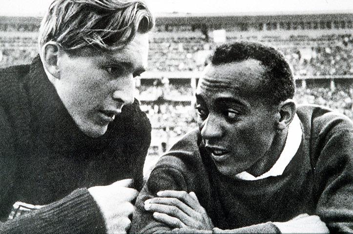 Jesse Owens Records Mundiales Juegos Olímpicos