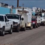 restablecen electricidad en estados tras sismo