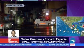 Veracruz se mantiene en alerta por huracán 'Katia'