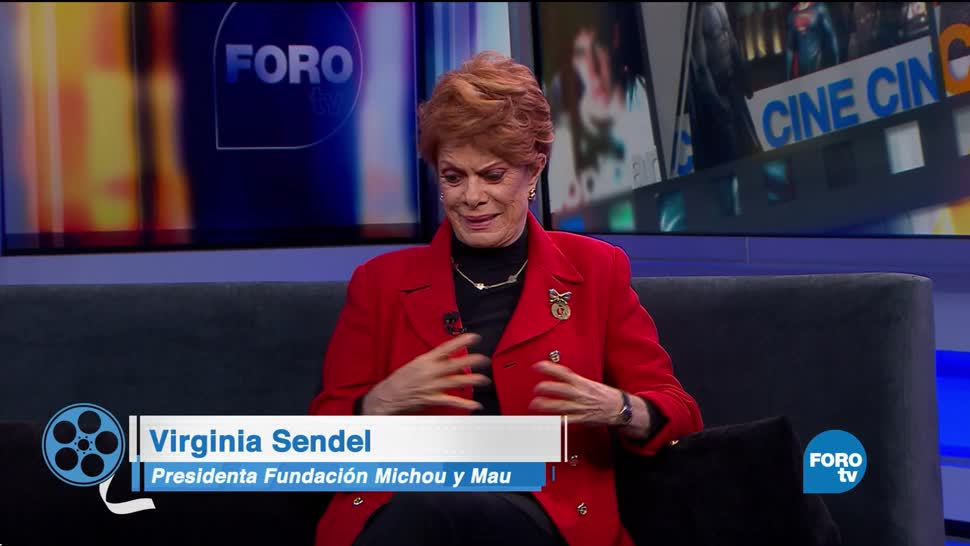Virginia Sendel platica de La Vida es Bella
