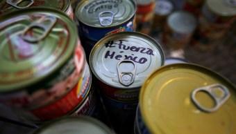 SAT abre aduana a donativos por sismo de 7.1 grados