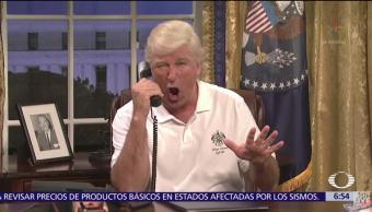 Regresan las parodias de Donald Trump a Saturday Night Live