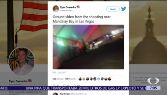 Descartan terrorismo como móvil del tiroteo en Las Vegas