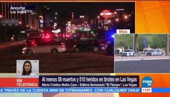 Se desconocen los motivos del atacante de Las Vegas