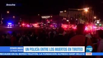 Varios Policías Entre Víctimas Las Vegas Joseph Lombardo Jefe De La Policía
