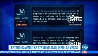 Estado Islámico Atribuye Ataque Las Vegas Grupo Terrorista