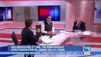 CDMX proyecta créditos a empresas afectadas por sismo