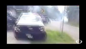 Sepultan a policías muertos en San Cristóbal de las Casas