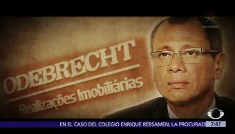 Piden prisión preventiva contra vicepresidente de Ecuador por caso Odebrecht