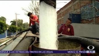 Repara Conagua fugas ocasionadas por sismo del 19-S en CDMX