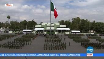 Peña Nieto preside aniversario por creación del primer cuerpo de Ejército