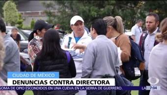 Procurador CDMX se reúne con familias del colegio Enrique Rebsamen