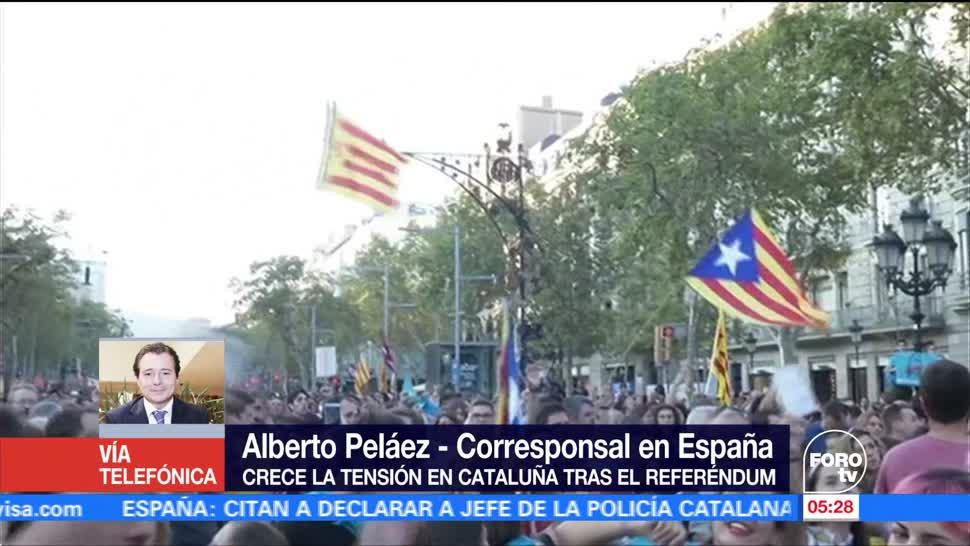Crece el ambiente independentista en Cataluña