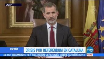 Crisis por referéndum independentista en Cataluña