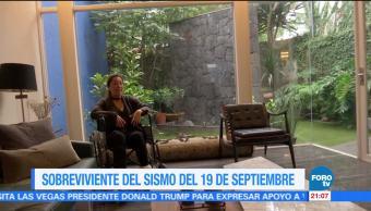 Sobreviviente del sismo del 19 de septiembre