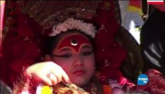 Kumari la tradición de las niñas diosas