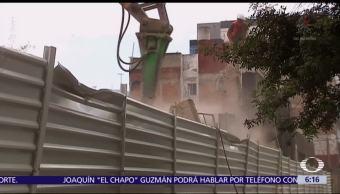 No usarán explosivos en demoliciones de inmuebles afectados por sismo en CDMX