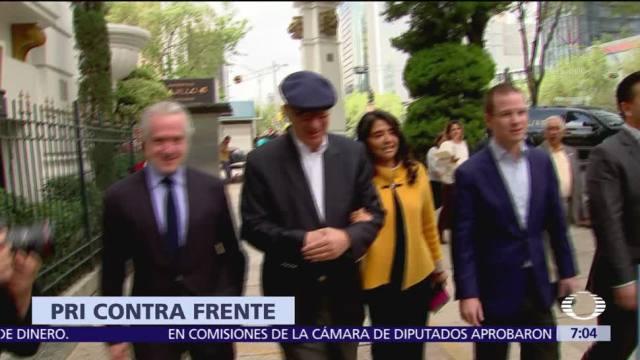 PRI impugna acuerdo del INE que aprobó creación del Frente Ciudadano