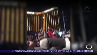 Trump evade debatir sobre control de armas tras masacre en Las Vegas
